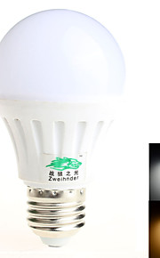 1 stk. 战狼之光 E26/E27 8W 15 SMD 5730 600 lm Varm hvit / Naturlig hvit G45 Dekorativ LED-globepærer AC 85-265 V
