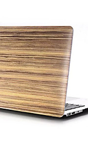 "Wood Grain Design Matte Hard Full Body  Case Cover for Macbook Pro 13""/15"""