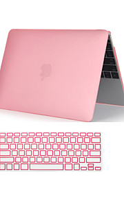 "2 in 1 Crystal Clear Soft-Touch  Full Body Case with Keyboard Cover  for  MacBook  Pro 13""/15""(Assorted Colors)"