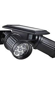 solar trådløs menneskelig bevegelse pir sensor lys 14 ledet 150lm landskapet spotlight lampe ligaen for loft vei