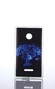 dibujo de pluma de TPU + soft IMD para Nokia Lumia N640 / n535 / N435