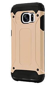 Luxury Hybrid Tough Armor Slim Case For Samsung Galaxy S6/S6 Edge/S6 Edge +/S7/S7 Edge/S7 Plus (Assorted Colors)