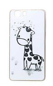 jirafa nueva TPU suave cubierta de la caja para las bolsas de las cajas del teléfono móvil Doogee x5