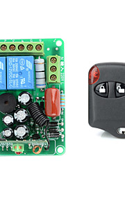 12V 2-Channel Wireless Remote Power Relay Module with Remote Controller (Input AC220V ,Output 30-250V)