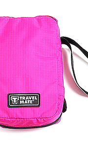 Travel Toiletry Bag / Inflated Mat Portable Travel Storage Fabric Green / Red / Pink / Blue