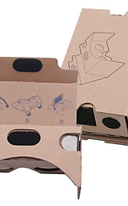 DIY  Cardboard Virtual Reality 3D Glasses VR Tookit(Upgraded version 37mm Lens)