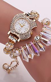 Ladies' Bracelet Watch Korean Crystal Apple Fashion Ornaments Crystal Bracelet Watch Ladies Watches (Assorted Colors)