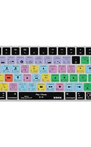 XSKN Final Cut Pro X 10.2 Shortcut Keyboard Cover Silicone Skin for Magic Keyboard 2015 Version, US Layout