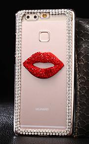 custodia rigida labbra modello pc per più Huawei Ascend P9 / p9lite / onore 4x / 5x / honor6 / 7 / P8 / p8lite / Y560 / G8 / g8mini