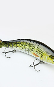 "MMLong 9.25"" Artificial Fishing Bait Lifelike Lures 2/0# Hook Vivid Performance Lure Fishing Crankbait  #MML11"