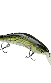 "MMLong 11.33"" Fishing Bait Lifelike Lures 2/0# Hook Vivid Performance Lure Fishing Crankbait  #MML11-M"