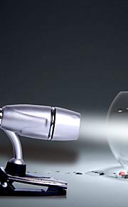 mlsled® bullet klipp hvitt lys ledet liten bordlampe husholdning nattlys dataskjerm lys