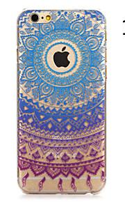 """fargerik blomst malt mønster hard plast tilbake dekke for iphone6plus / 6splus 5,5 """""""