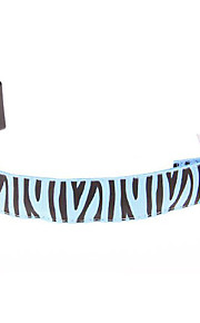 Fashion Zebra Glow Pet Collars