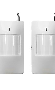 2pcs/lot Infrared Wireless PIR Sensor Motion Detector 433mhz Only Compatible with Alarm System of Supplier 15338