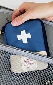 Viagem Porta-Remédios Organizadores para Viagem Portátil Tecido