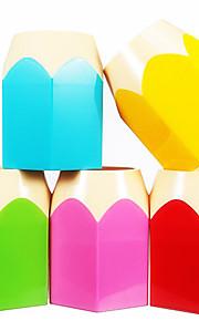 Bonito-Plástico-Cajas y Sujetadores de Bolígrafos