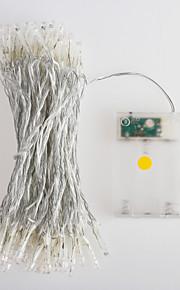 80-ledede 10m ledet streng lys (4,5 V)