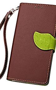 hoja karzea ™ Funda protectora de cuerpo completo de la PU con la cubierta de TPU para soportar N550 Nokia Lumia Microsoft (colores