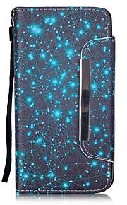 sterrenhemel patroon pu lederen portemonnee case voor de Samsung Galaxy J5 / G360 / G530 / 9082