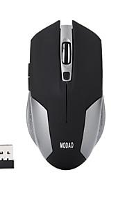 ergonomiske 6 nøgler tavse 2,4 g trådløs optisk gaming mus 1600 dpi
