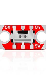 KEYES LilyPad Wearable Switch Module (Red)