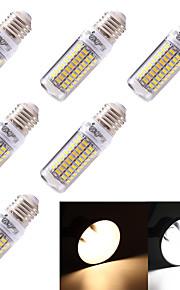 5W E26/E27 LED-kornpærer T 99 SMD 5730 350 lm Varm hvit / Kjølig hvit Dekorativ AC 220-240 / AC 110-130 V 6 stk.