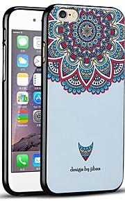 vakker blomst beskyttende bakdekselet myk iphone case for iphone 6s / iphone 6