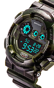 EL Electronic Waterproof Outdoor Sports Mountaineering Diving Shock Men's Watch