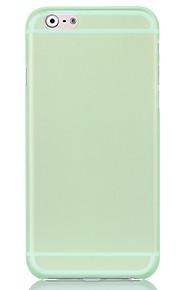 0,07 mm tunn matt transparent pc ringer fallet för iPhone 5 / 5s / se