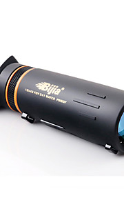 BIJIA 10 42 mm Monocular HD BAK4 Night Vision / Generic / Roof Prism / High Definition /Waterproof Central Focusing