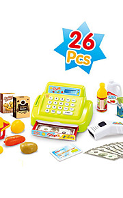 Children's educational enlightenment toys Children's play sets joyous sound and light simulation toy cash register