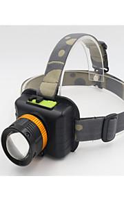 פנסי אופניים LED 3 מצב 1200 Lumens עמיד למים / ניתן לטעינה מחדש / Zoomable Cree T6 USBמחנאות/צעידות/טיולי מערות / שימוש יומיומי / צלילה/