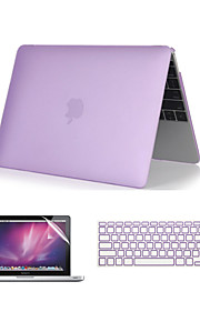 "3 in 1 Crystal Clear Soft-Touch  Case with Keyboard Cover and Screen Protector  for  MacBook Pro 13""/15'' with Retina"