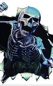 Car Stickers Skeleton Fear Body Stickers Graffiti Car Decals