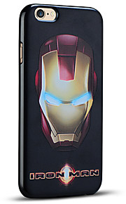 unikt preget iron man beskyttende bakdekselet myk iphone case for iphone 6s pluss / iphone 6 pluss