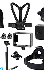 14-in-1 Accessories Set Kit Case Bag Sports Camera Accessories Kit for Xiaomi Xiaoyi
