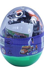 dr boom bil 6505, le byggesten trafik blokke snoet æg pædagogisk legetøj samlet 69 pcs