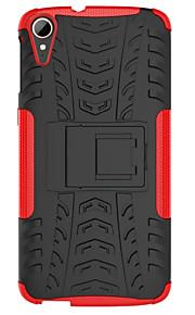 HTC 욕망 (820) D820 케이스 홀더 스탠드 전화 케이스 부드러운 실리콘 하드 플라스틱 쉘 케이스 커버