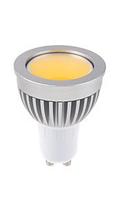 1 stk. Bestlighting GU10 3W 1 COB 450 lm Varm hvit / Kjølig hvit MR16 Dimbar LED-spotpærer AC 220-240 / AC 110-130 V