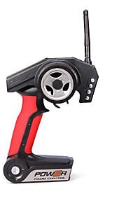 WLToys A949 / A959 / A969 / A979 WLToys A949-57 Transmissor / Controlador remoto / peças Acessórios RC Carros / Buggy / Caminhões Vermelho