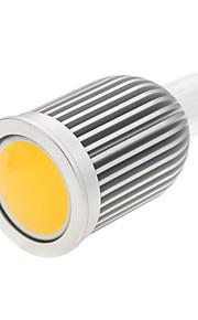 1 stk. Bestlighting GU10 5W 1 COB 650 lm Varm hvit / Kjølig hvit MR16 Dekorativ LED-spotpærer AC 85-265 V