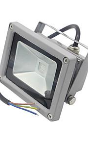 1 stk. HRY 10W 1 Integrert LED 1000LM lm Varm hvit / Kjølig hvit Dekorativ / Vanntett LED-lyskastere AC 85-265 V