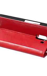 couvercle rabattable style portefeuille avec fente pour carte cas honneur huawei 7 cas mode crazy horse texture (couleurs assorties)