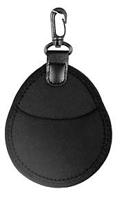 Wallet Case Bag with 2 Pockets for 25mm - 77mm Lens Filter 49mm 52mm 58mm 67mm