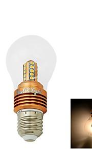 1 stk. YouOKLight E26/E27 5W 25 SMD 2835 400 lm Varm hvit CA35 Dekorativ LED-globepærer AC 85-265 / AC 220-240 / AC 110-130 V