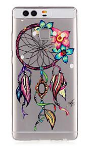 modello fiori Dreamcatcher rilievo caso di TPU per p9 / p9 lite