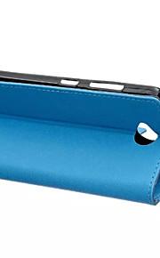 노키아 루미아 650의 경우 패션 카스 그레인 패턴 질감 케이스 카드 슬롯 플립 커버 지갑 스타일 (모듬 색상)