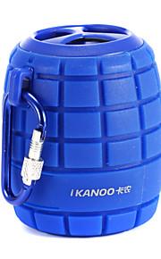 ikanoo i-308 mini portatile bluetooth sport all'aria aperta altoparlante bomba wireless per la bici