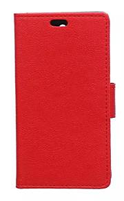 노키아 루미아 850의 경우 패션 카스 그레인 패턴 질감 케이스 카드 슬롯 플립 커버 지갑 스타일 (모듬 색상)
